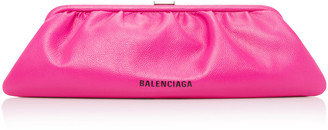 Balenciaga Cloud Leather Clutch