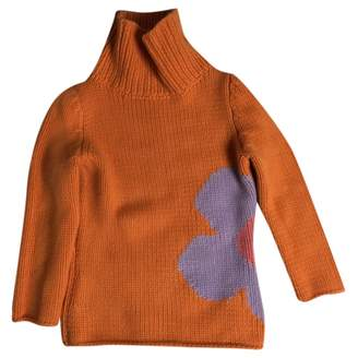 Celine \N Orange Cashmere Knitwear for Women Vintage