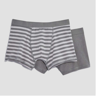 Joe Fresh Kid Boys 2 Pack Trunks, Print 3 (Size M)