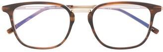 Lacoste Rectangular-Frame Logo Glasses