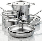 Zwilling J.A. Henckels Sensation 5-Ply Stainless Steel 10 Piece Cookware Set