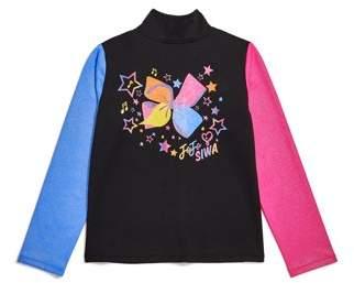 Danskin Jojo Siwa By JoJo Siwa by Colorful Rainbow Warm Up Jacket (Little Girls & Big Girls)
