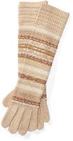 Ralph Lauren Striped Fair Isle Long Gloves