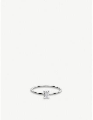 Selfridges RedLine Comtesse 18ct white-gold and diamond ring