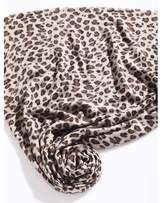 Qasmyr Hand Woven Leopard Print Cashmere Scarf.