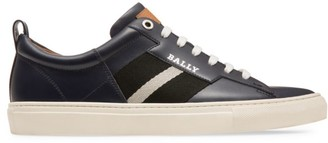 Bally Helvio Leather Sneakers