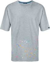 GUILD PRIME splattered T-shirt - men - Cotton - 1