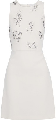 3.1 Phillip Lim Embellished Crepe Mini Dress