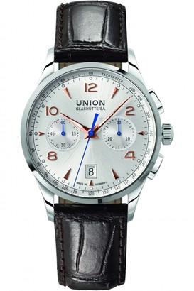 Mens Union Glashuette Noramis Chronograph Automatic Chronograph Watch D0084271603701