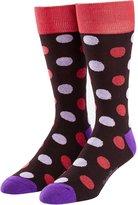 English Laundry Men's Stylish Classic Patterned Dress Socks