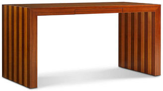 Bunny Williams Home Finley Desk - Rosewood/Sycamore Veneer