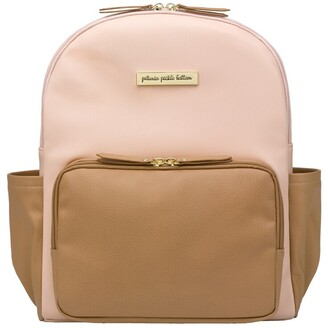 Petunia Pickle Bottom PPB District Backpack Blush/Camel