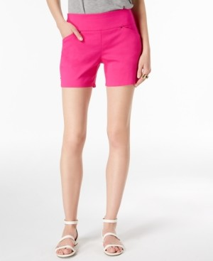INC International Concepts Inc Curvy Pull-On Shorts, Created for Macy's