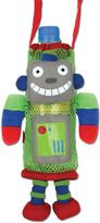 Stephen Joseph Robot Bottle Buddy in Grey