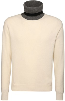Maison Margiela Cashmere Blend Turtleneck Sweater