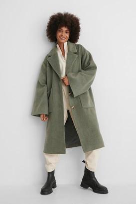 NA-KD Wide Sleeve Coat
