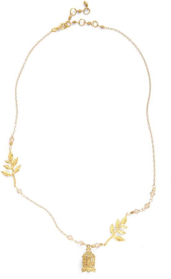 The Gilded Cage Necklace