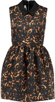 McQ by Alexander McQueen Printed shell mini dress