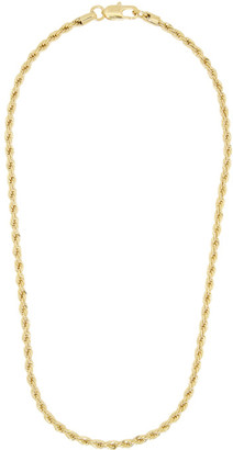 Laura Lombardi Gold Rope Chain Necklace