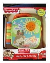 Fisher-Price Nighty Nighty Monkey - My Little Snug a Monkey