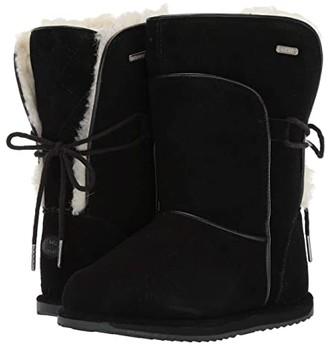 Emu Airlie (Toddler/Little Kid/Big Kid) (Black) Girls Shoes