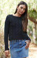 La Hearts Cable Stitch Pullover Sweater