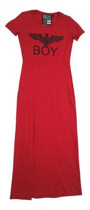 Boy London Red Cotton Dress for Women