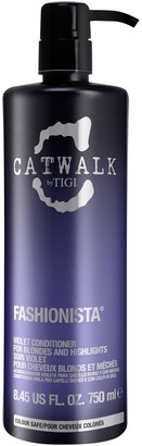 Catwalk Fashionista Violet Purple Conditioner For Blonde Hair 750Ml