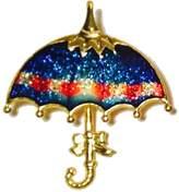 Wan Nan Umbrella Lapel/ Brooch Pin