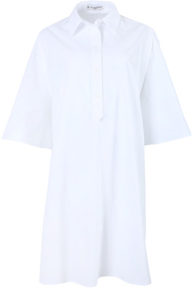 Givenchy White Boxy Cotton Dress