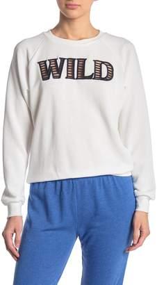 Wildfox Couture Wild Raglan Sleeve Sweatshirt