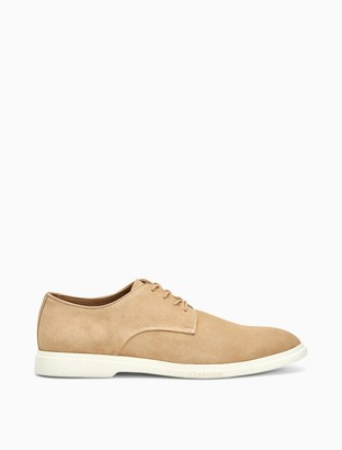 Calvin Klein Theon Silky Suede Lace-Up Shoe