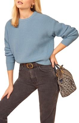 Reformation Winnie Organic Cotton Sweater