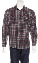 Billy Reid Plaid Flannel Shirt