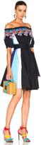 Peter Pilotto Paneled Cotton Lace Dress