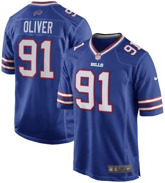 Nike Ed Oliver Buffalo Bills 2019 NFL Draft First Round Pick Game Jersey Royal