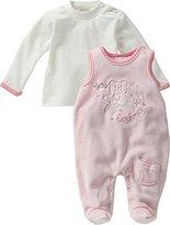 Schnizler Baby Girls' Footie Pink Rosa (original 900) 0-3 Months