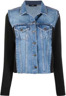 Diesel Denim Panel Jacket
