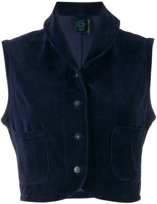 Romeo Gigli Pre Owned 1990s Cropped Gilet