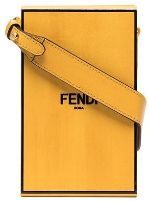 Fendi Leather Box Shoulder Bag