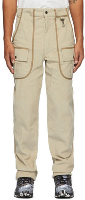 Reese Cooper Beige Corduroy Trousers