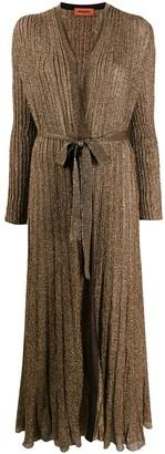 Missoni Tie Waist Cardi-Coat