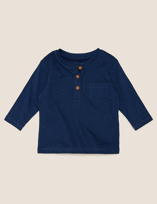 Marks and Spencer Pure Cotton Top (0-3 Yrs)