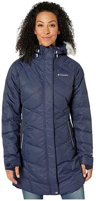 Columbia Lay D Down II Midtm Jacket (Dark Nocturnal Dobby) Women's Coat