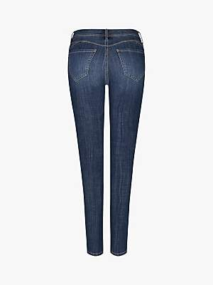 NYDJ Curve Boost Skinny Jeans, Laine Blue