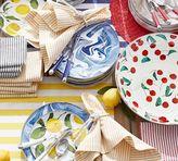 Pottery Barn Lemon Enamel Salad Plate, Set of 4