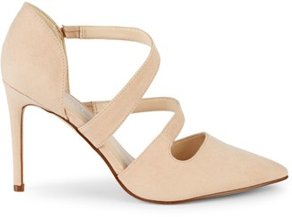 Nine West Strappy d'Orsay High Heel Pumps