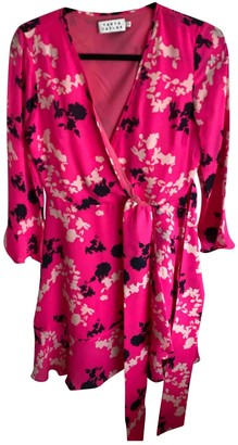 Tanya Taylor Pink Silk Dress for Women