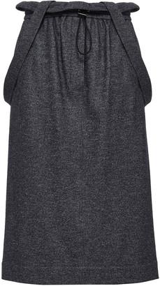 Tibi Wool And Cotton-blend Tweed Midi Skirt