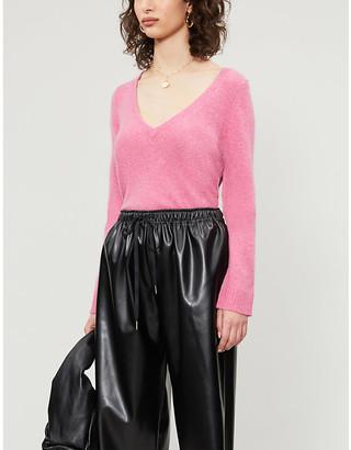 Zadig & Voltaire Sourca V-neck cashmere jumper